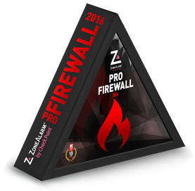 ZONEALARM PRO FIREWALL 2016 Checkpoint Internet Security Software | 3 PCs | 1 Year [Download]