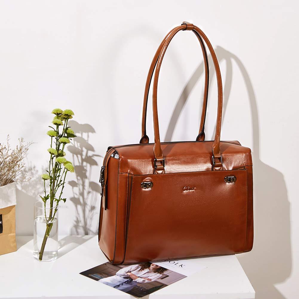 Womens-Briefcase-Oil-Wax-Genuine-Leather-156-Inch-Laptop-Business-Vintage-Ladies-Shoulder-Bag