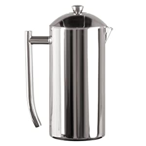 Frieling Double Wall Stainless Steel French Press Coffee Maker