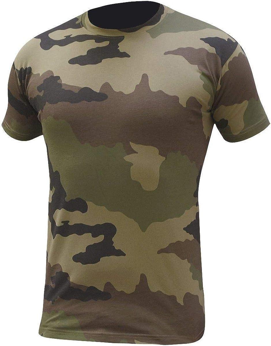 Patrol Tee-Shirt cooldry Camo CE