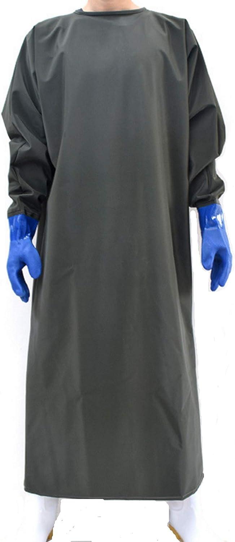 Macellaio toelettatura del Cane Grembiule Impermeabile con Guanto per lavastoviglie xt Lavoro di Laboratorio Pulizia dei Pesci plastica Industriale Resistente agli Agenti chimici 47 progetti