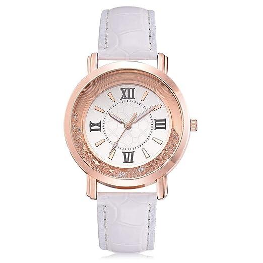 OPAKY Relojes Pulsera Mujer Reloj de Cuarzo de Acero ...