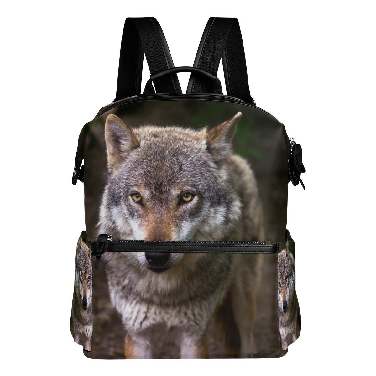 FAJRO - Zainetto da viaggio, motivo  lupo