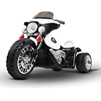 Kids Ride-On Motorbike Motorcycle Harley Style Electric Toy Battery Police Car