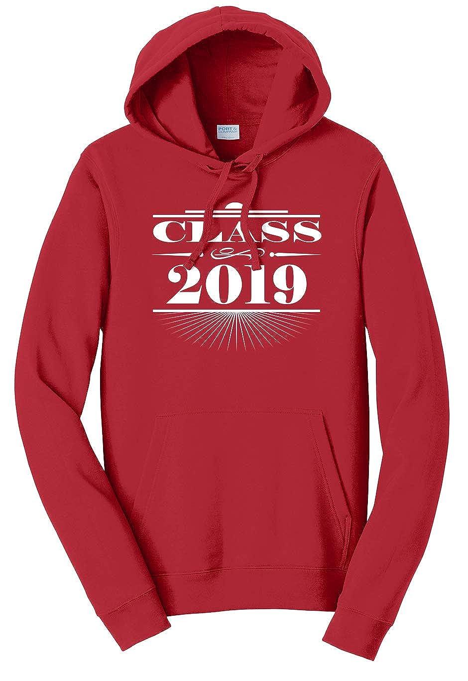 Tenacitee Unisex Art Deco Class of 2019 Sweatshirt