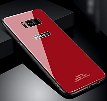 Cell Phone Accessories Housse Etui Coque Bumper Case Cover Tpu Samsung Galaxy S8 Couleur Rouge Cell Phones & Accessories