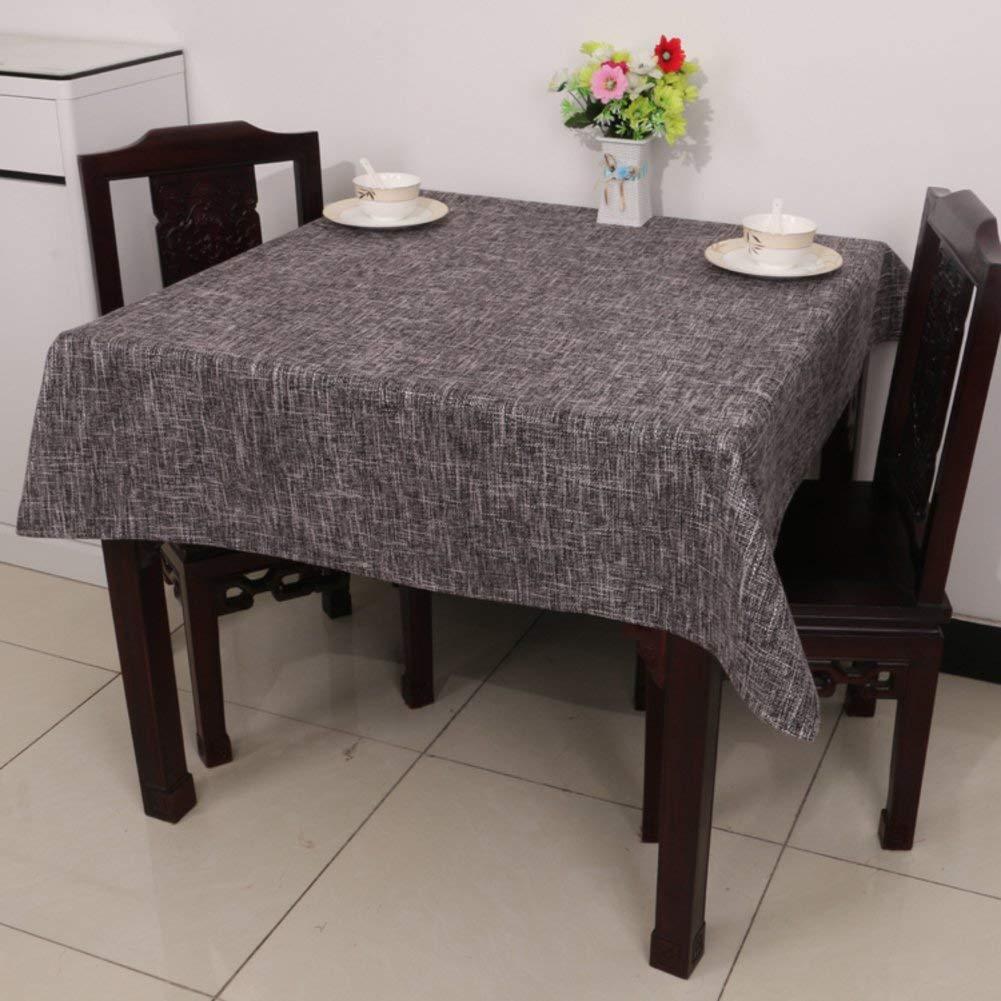 Huaxin Tovaglia da Giardino in Cotone Tovaglia da Tavolo in linoTovaglia da Giardino (Colore   D, Taglia   90x150cm(35x59inch))