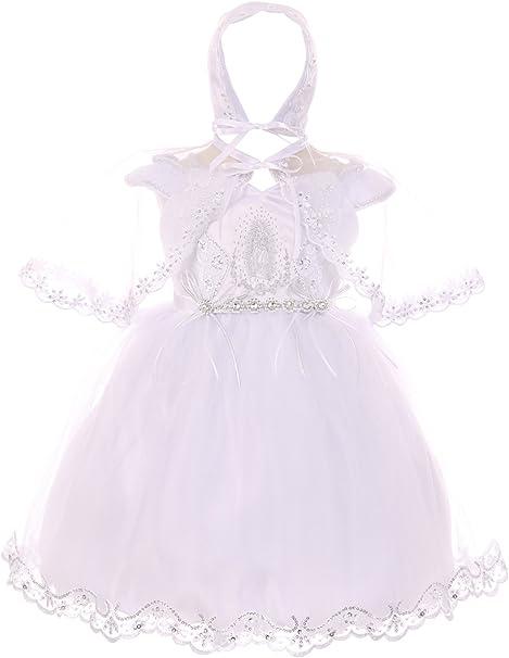 Amazon.com: Dreamer P capó Niñas, bebé Virgen María bebé ...