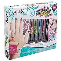 Alex Spa Sketch It Nail Pens Salon Girls Fashion Activity