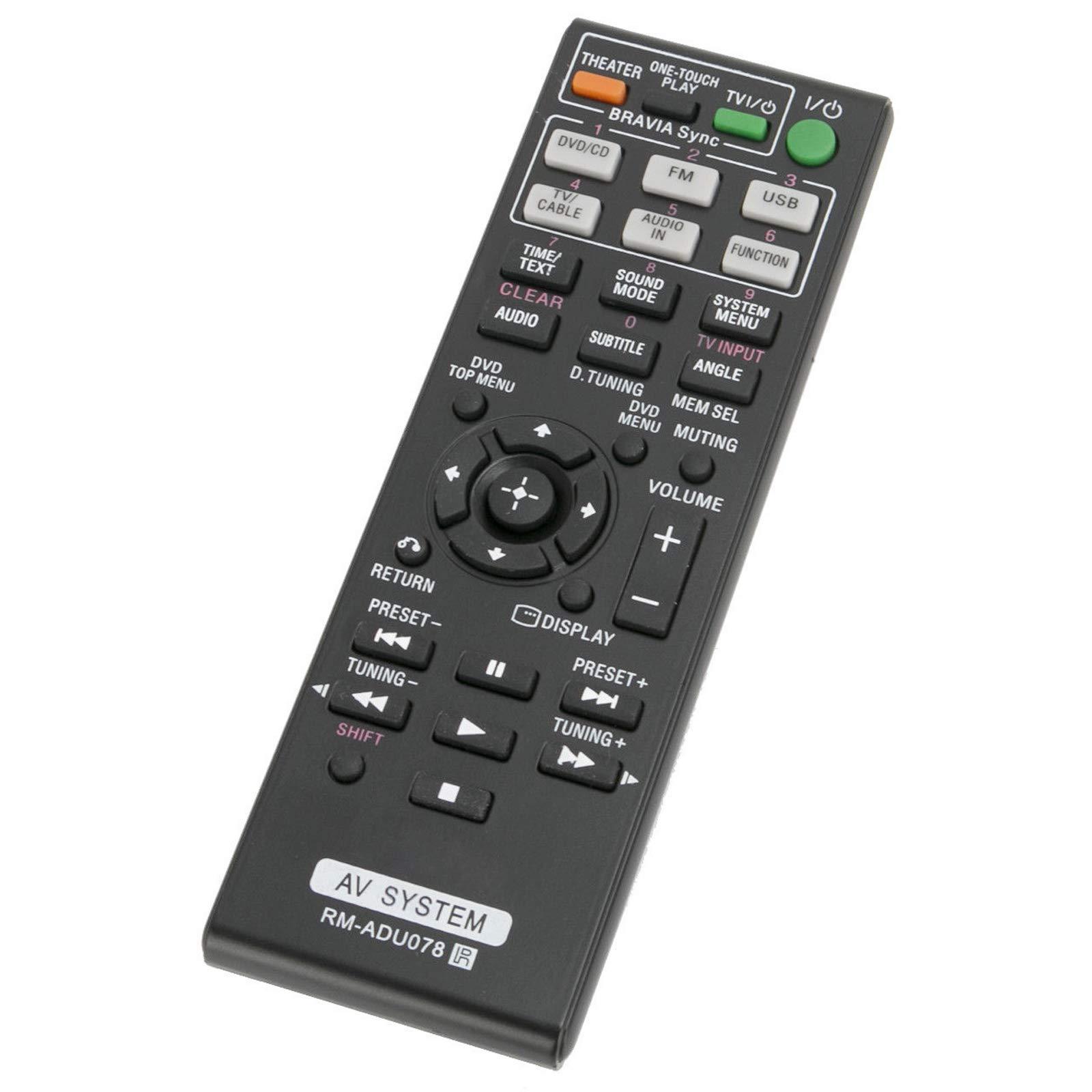 Control Remoto Rm Adu078 Rmadu078 Sony Dvd Home Theater A...