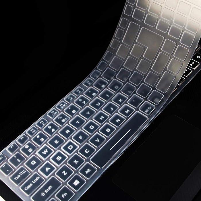 MUBUY Keyboard Cover for Acer 2019 Predator Helios 300