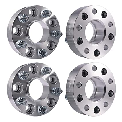 S10 Lug Pattern >> Amazon Com Acumste 4pcs Wheel Spacers Adapters 1 5 5 Lug 5x4 75