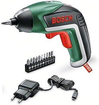 Bosch Home and Garden 06039A800M Pack con atornillador IXO V y juguete IXOLINO, 10 puntas, cargador Micro USB, 5 W, 3.6 V