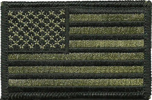 Tactical USA Flag Patch - Olive Drab - by Gadsden and Culpeper