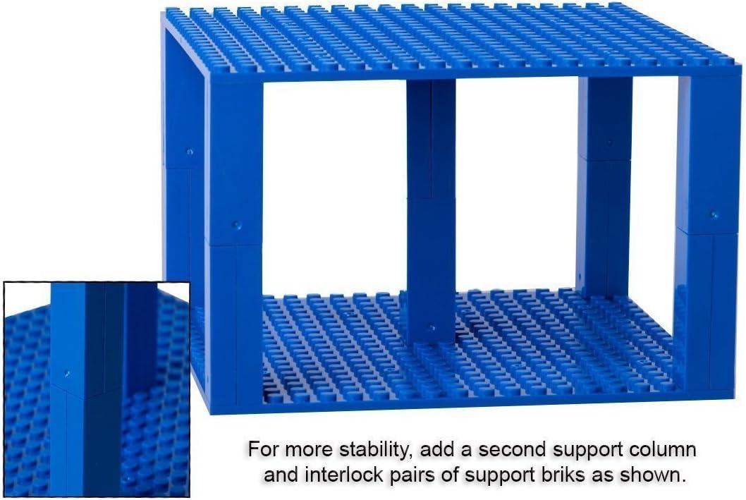 Strictly Briks Pack de 10 Bases con Ladrillos separadores 2 x 2 ...