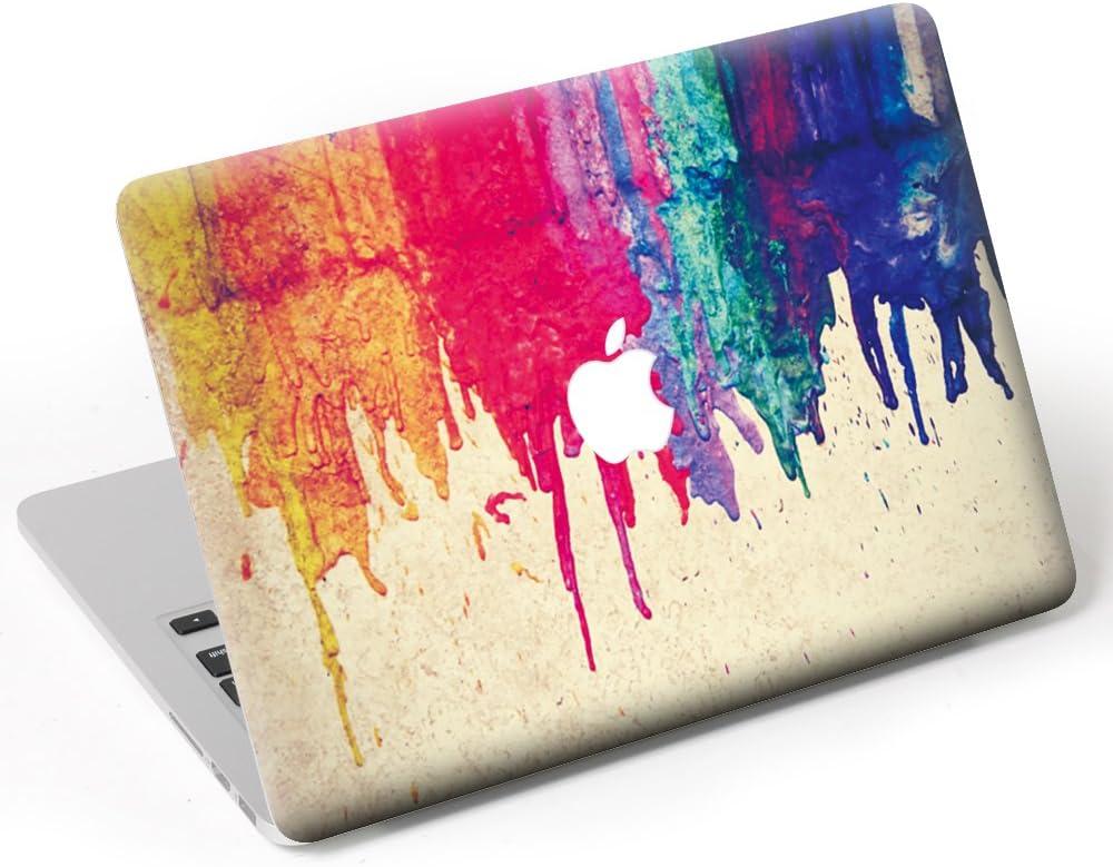 Selbstklebend New Art Abnehmbar A1425//A1502 Vinyl Super Mince Sticker f/ür Apple MacBook Mandala Bleu MacBook Pro 13 with Retina Caroki Aufkleber f/ür MacBook