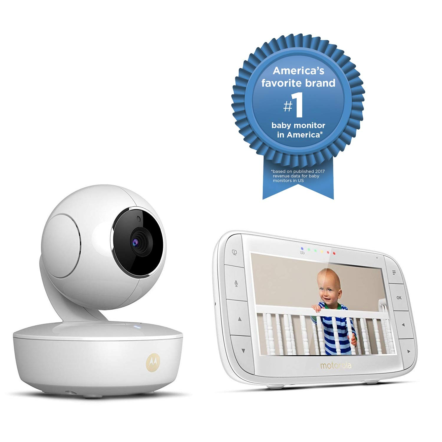 61ok 8 Best Smart Baby Monitors Review [Smartphone, WiFi]
