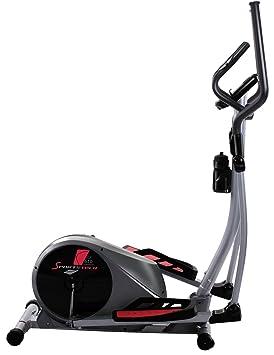 Sportstech CX610 con Smartphone App bicicleta elíptica profesional control + Google Street View, 18 kg