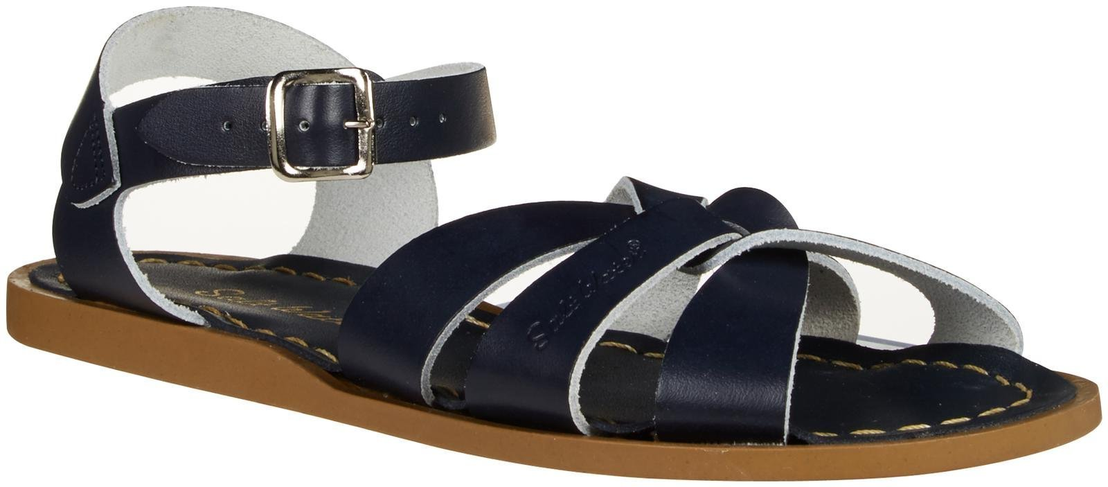 Salt Water Sandals by Hoy Shoe Original Sandal (Toddler/Little Kid/Big Kid/Women's), Navy, 7 M US Big Kid