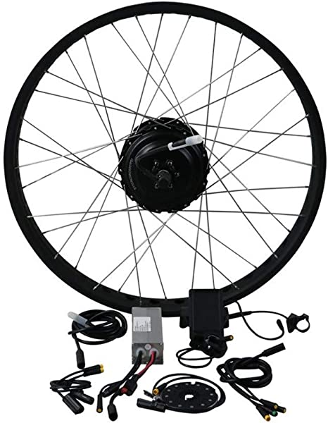 EUNORAU Kit de Bicicleta eléctrica 48 V 500 W Shengyi DGW25 ...