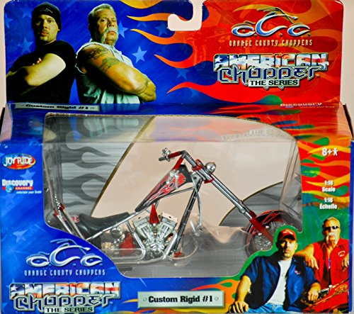 ERTL / Joy Ride - Orange County Choppers - American Chopper The Series - Custom Rigid #1 - 1:18 Scale - Die Cast Metal - 1of 9 in Series - New - MIB - Limited Edition - Collectible (Ertl Orange County Choppers)