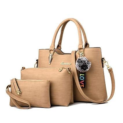 3222f1e23f98 GSYDXKB New Women Bags Set 3 pcs Women's Large Leather Bag Ladies ...