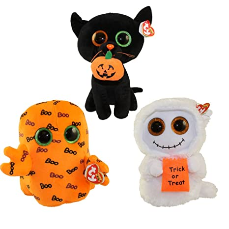 42a0afb1332 Amazon.com  TY Beanie Boos - SET of 3 HALLOWEEN 2016 Releases ...