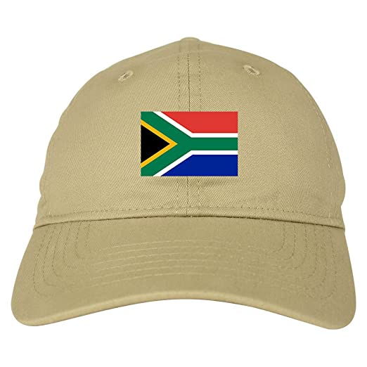 Amazon.com  South Africa Flag Country Chest Dad Hat Baseball Cap ... 98f5739a396