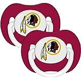 Baby Fanatic Pacifier (2 Pack) - Washington Redskins