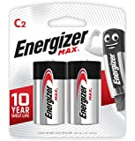 Energizer Max Alkaline E93BP-2 C (Packaging may vary), 2ct