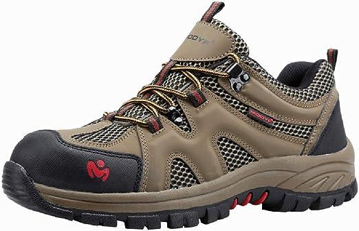 YXWa Botas para Hombres Botas de Seguridad para Hombre, Zapatos ...
