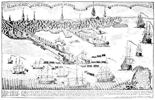 Quartering Act 1768 Nthe Landing Of The British Troops 1 October 1768 Line Engraving 1768 By Paul Revere Poster Print by (24 x 36)