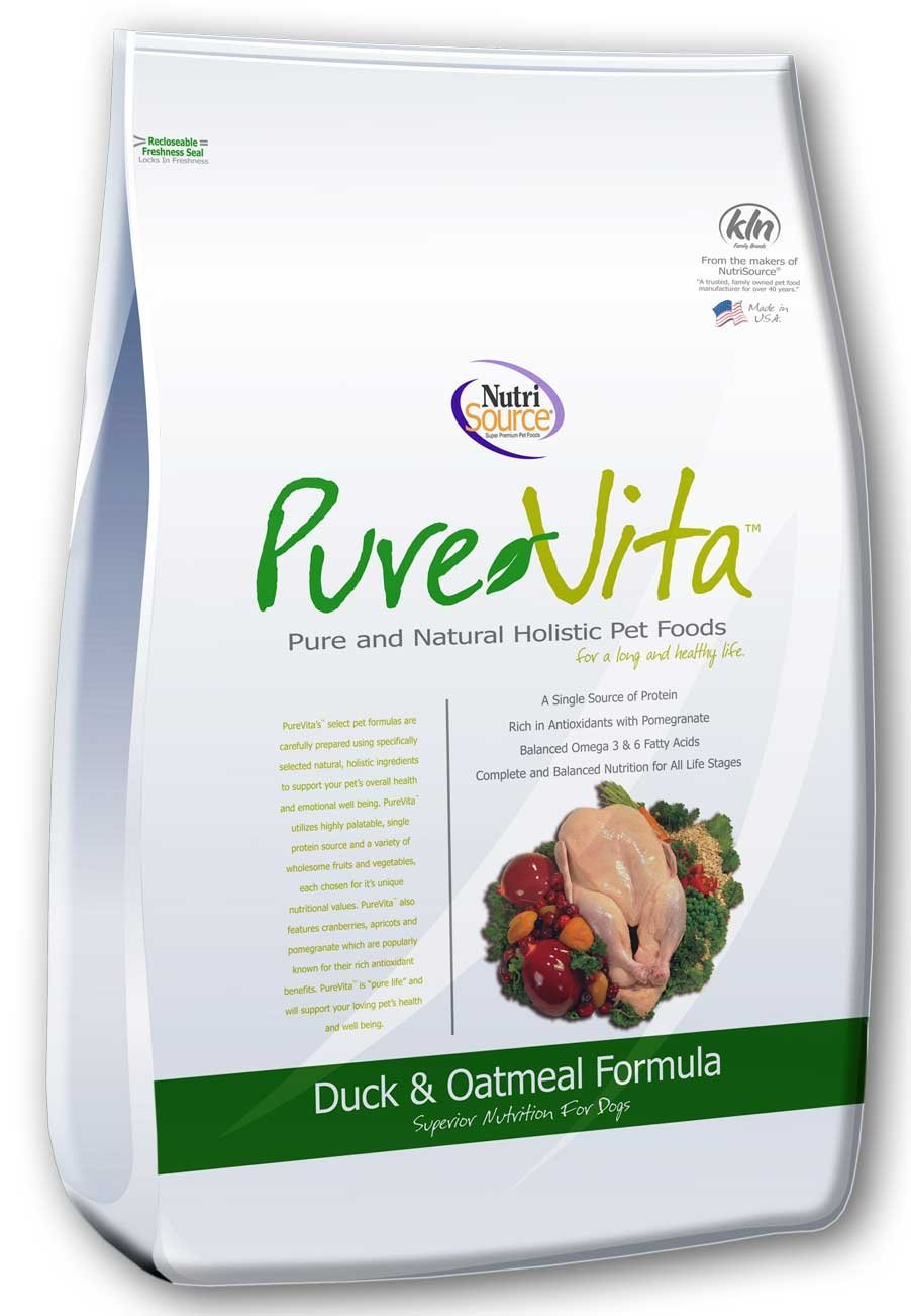 Tuffy'S Pet Food 131634 Tuffy Pure Vita Duck And Oatmeal For Dogs, 25-Pound by Tuffy's Pet Food