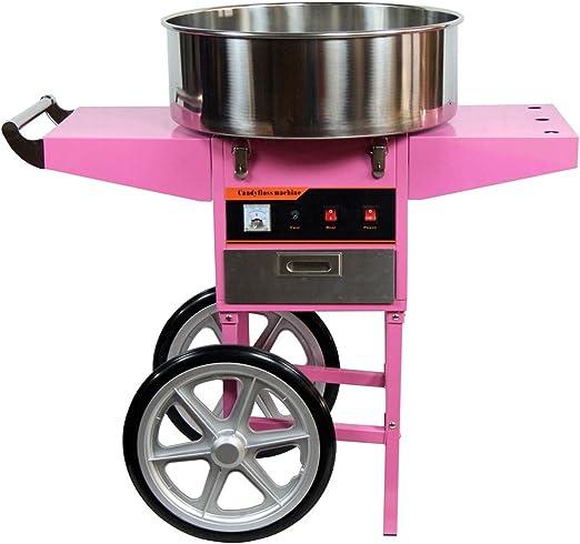 Máquina Algodón De Azúcar profesional con mueble: Amazon.es: Hogar