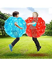 Inflatable Bubble Balls for Kids,Inflatable Buddy Bumper Balls Sumo Game,Giant Human Hamster Knocker Ball Body Zorb Ball for Child Outdoor Team Gaming Play .