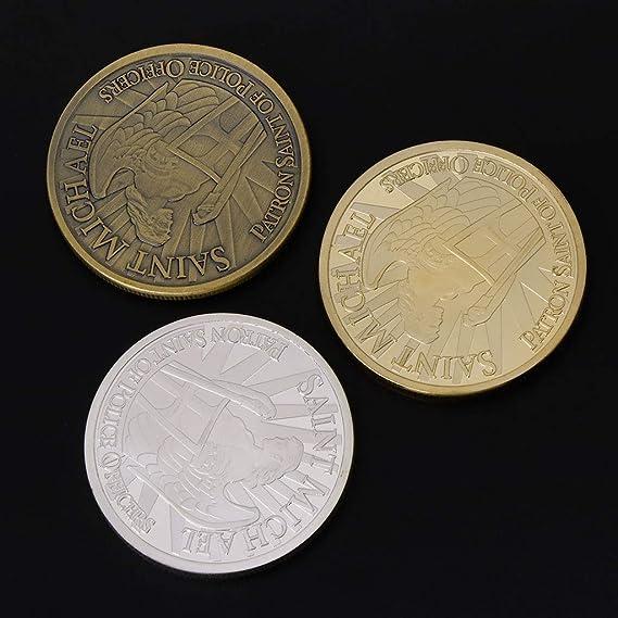 Moneda Conmemorativa de FANER Patrona de Oficiales de policía ...