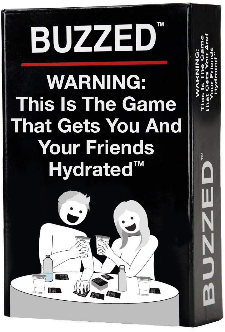 Buzzed - The Hilarious Party Game That Will Get You & Your Friends Hydrated