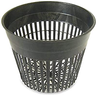 Daisy Products NP5 Net Pot, 5'', Black: Garden & Outdoor