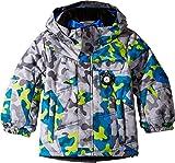 Obermeyer Kids Baby Boy's Hawk Jacket (Toddler/Little Kids/Big Kids) Fractal Camo 1T