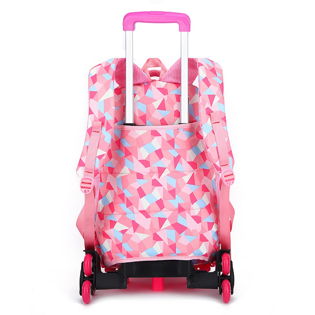 Belify Kids Rolling Backpacks Luggage Six Wheels Unisex Trolley School Bags  Climbing Stairs Red Rose For Girls  Amazon.co.uk  Clothing a77da10efa0b8