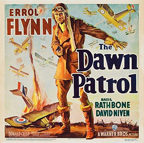 Posterazzi The Dawn Patrol Errol Flynn 1938. Movie Masterprint Poster Print (11 x 17)