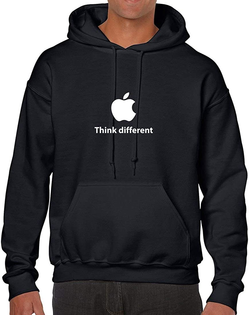 Apple Think Different Hoodie Pullover Hood