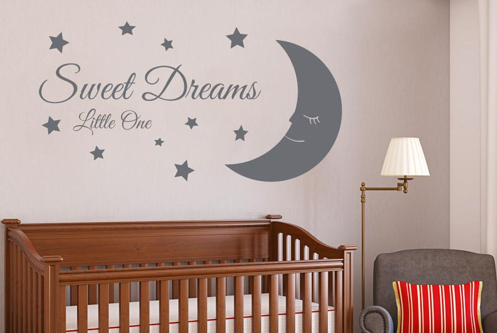 sweet dreams little one wall stickers and art decals large height