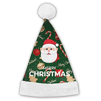 Christmas Labels With Santa Claus Christmas Hat For