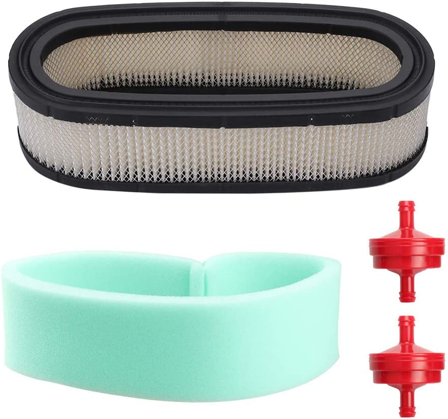 394019S 398825 Air Filter for 394019 5052 5052H 5052K 400700-422700 40A700 42A700 460700 16HP 18HP Vertical Twin Engines