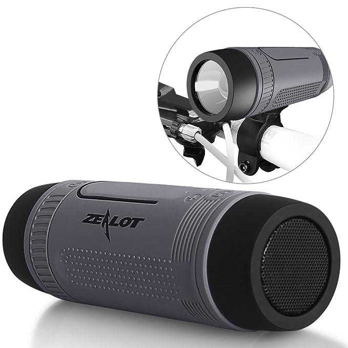 Amazon.com: ZEALOT S1 Portable Wireless Bluetooth Speakers ...