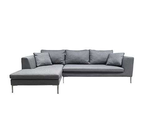 Outstanding Amazon Com Kmp Furniture Bernie Sectional Sofa Left Chaise Andrewgaddart Wooden Chair Designs For Living Room Andrewgaddartcom