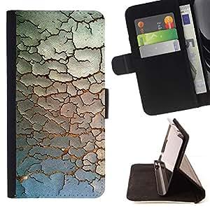 Momo Phone Case / Flip Funda de Cuero Case Cover - Pintura minimalista Modelo rústico - Samsung Galaxy A5 ( A5000 ) 2014 Version