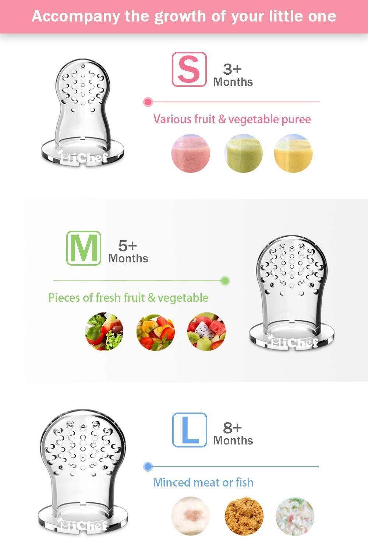 Amazon.com: MICHEF - Comedero de alimentos para bebés (2 ...