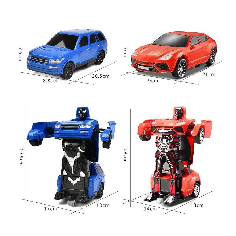 Passe-Temps V/éhicule R for Enfants AIOJY Transformers T/él/écommande Voiture 1:16 T/él/écommande RC Voiture /Électrique Rechargeable 2.4Ghz Enfants Jouets Voiture RC for Gar/çons Filles
